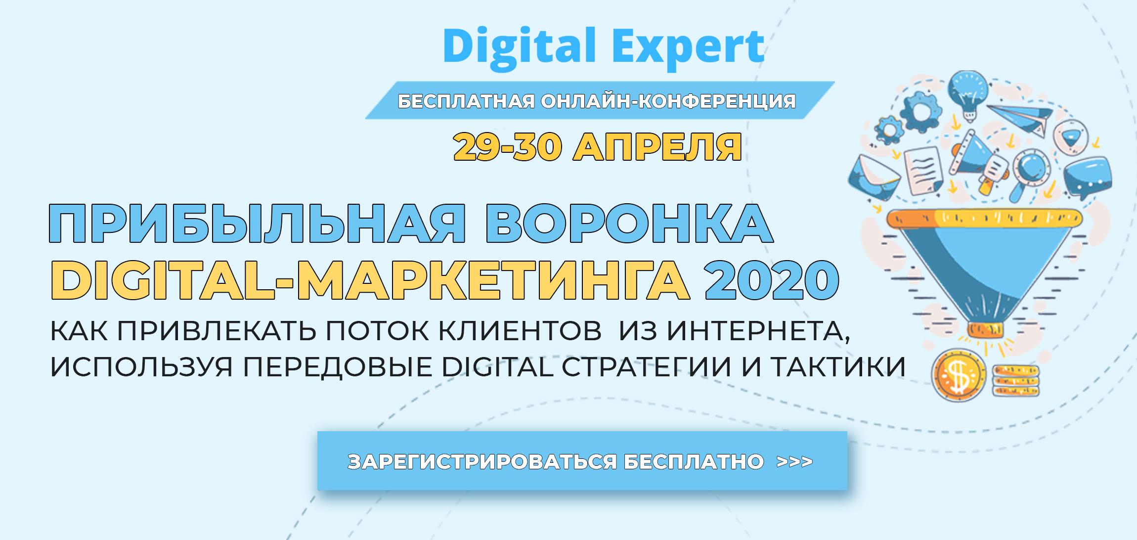Прибыльная воронка digital-маркетинга 2020