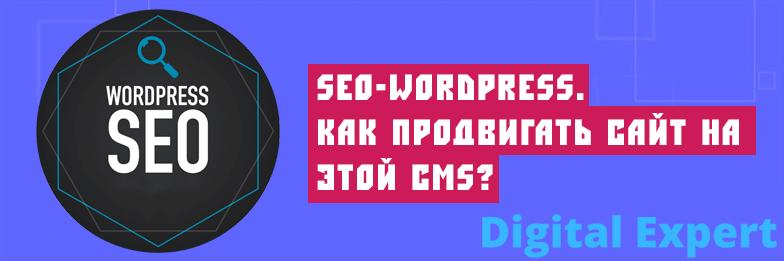 SEO-WordPress. Как продвигать сайт на этой CMS?
