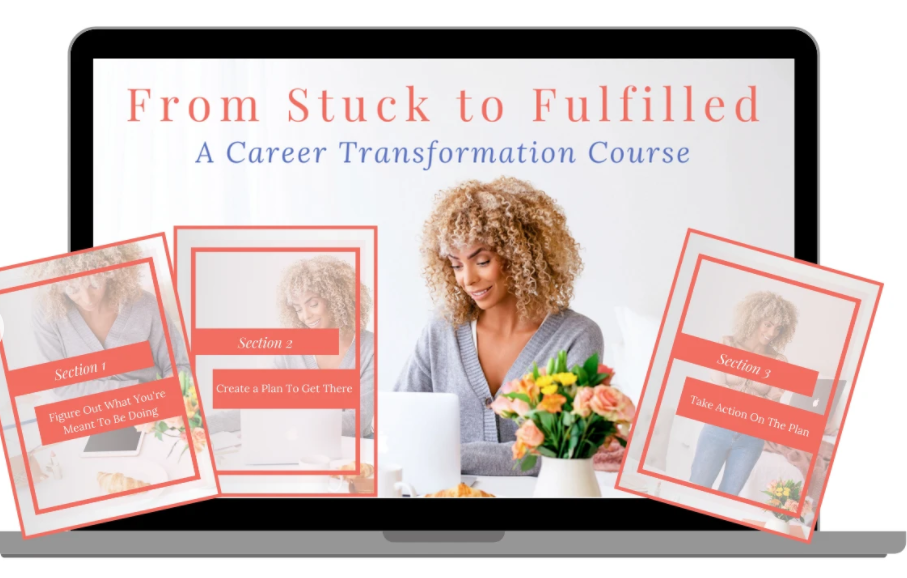 Спецпредложение для From Stuck to Fulfilled: A Career Transformation Course - лучшая цена на рынке