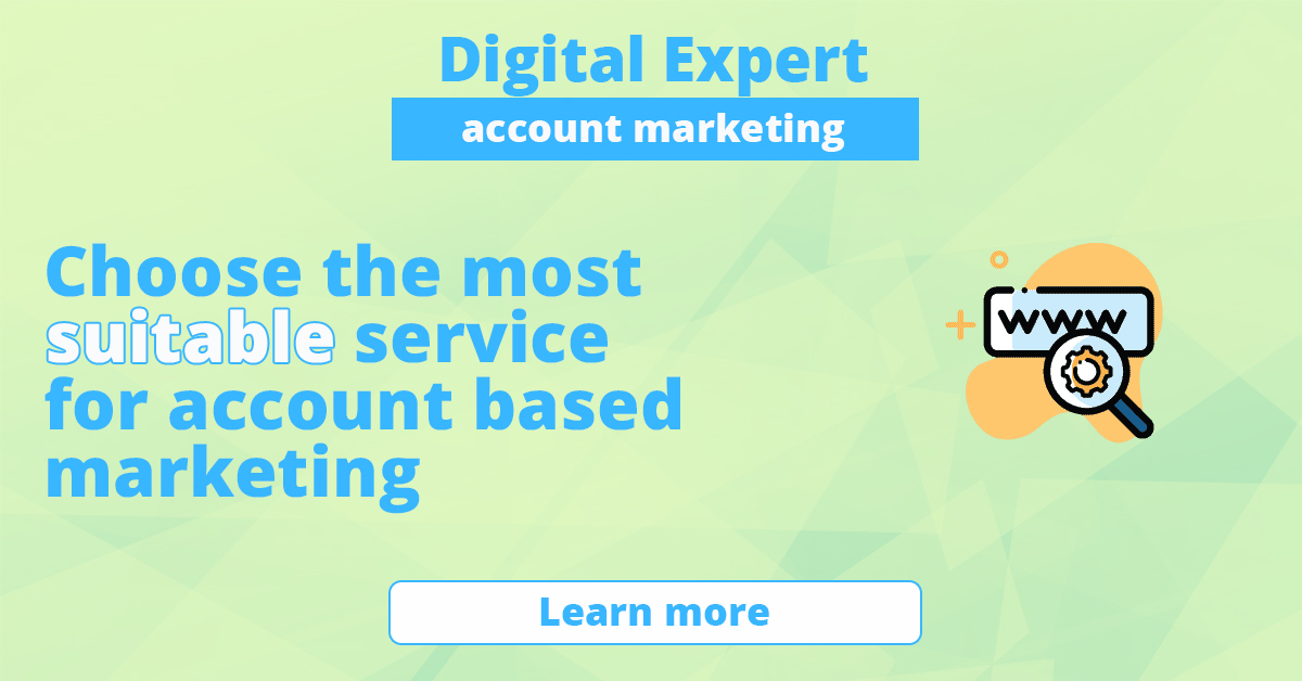 Best services for account-based marketing