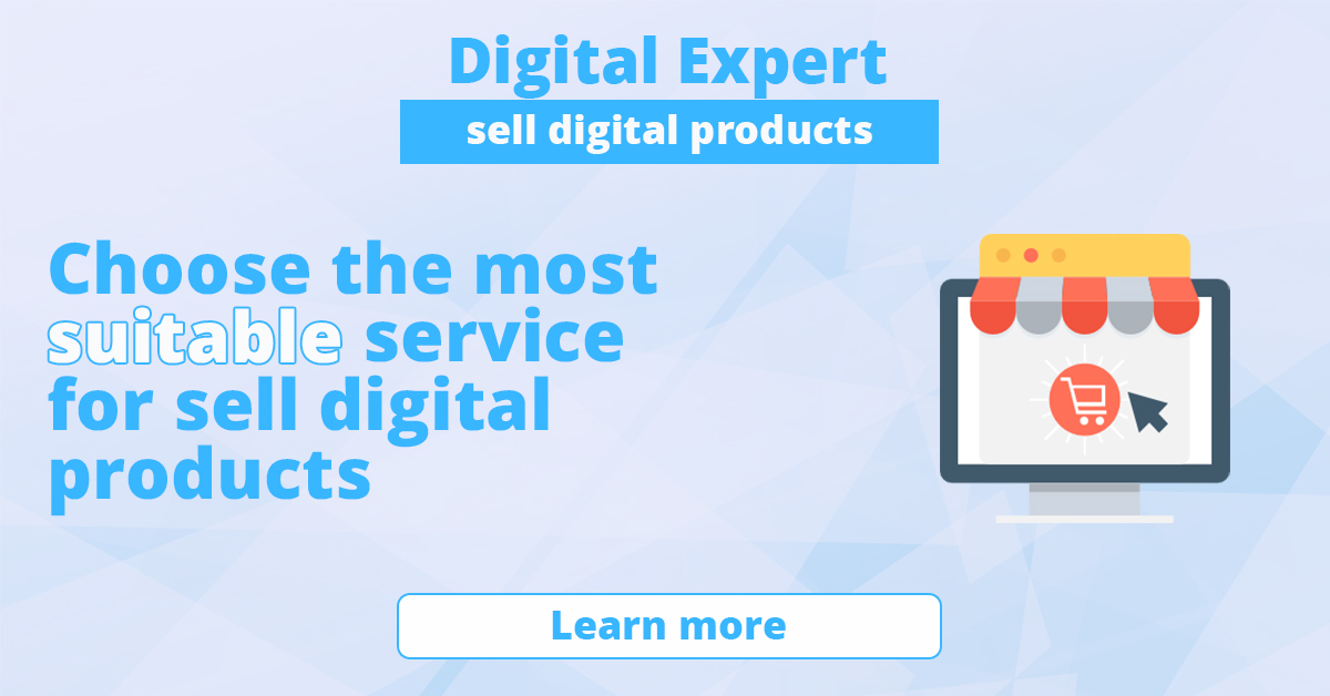 Best services to sell digital products