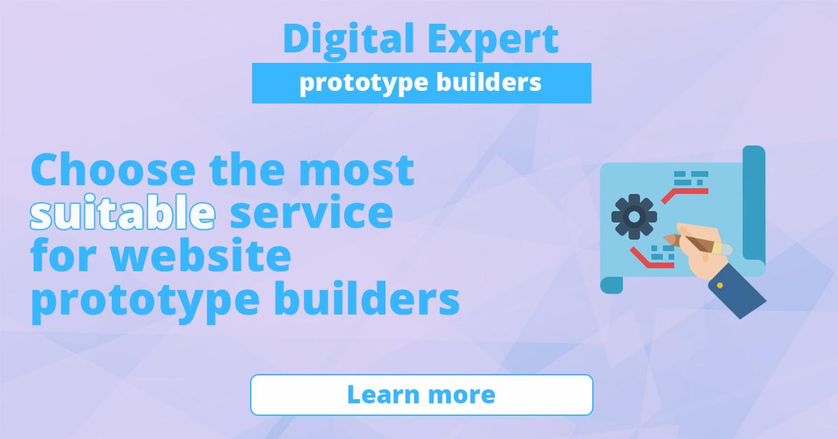 Best website prototype builders