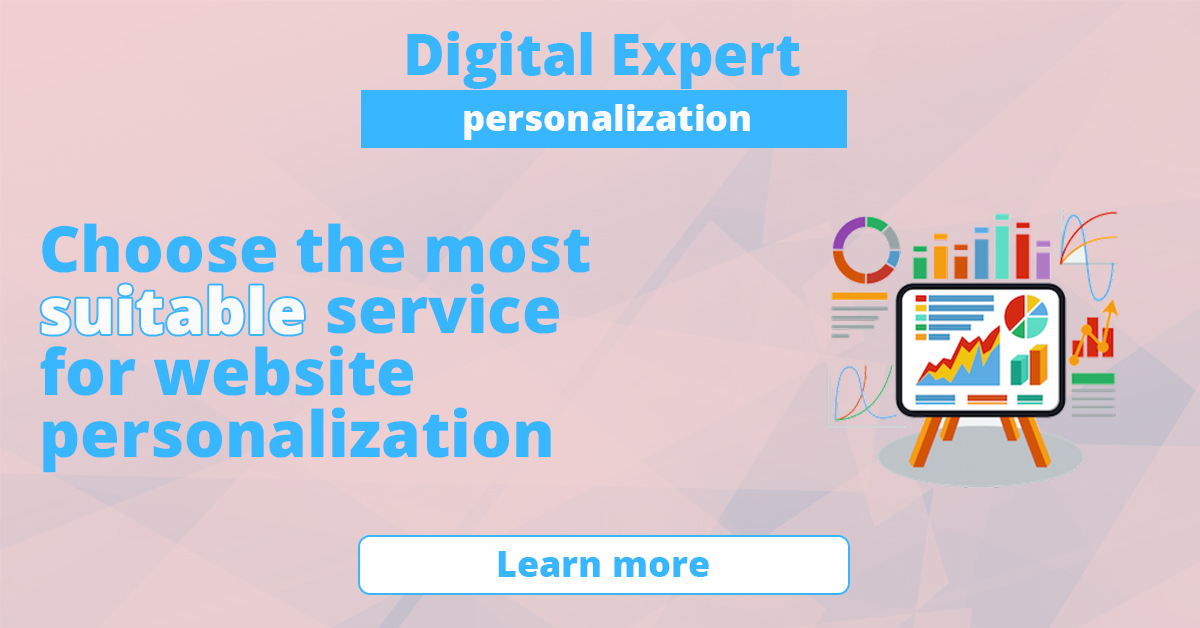 The best services for website personalization