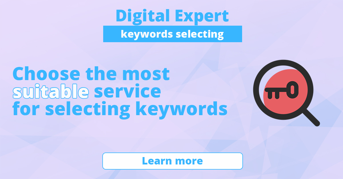 The best services for selecting keywords