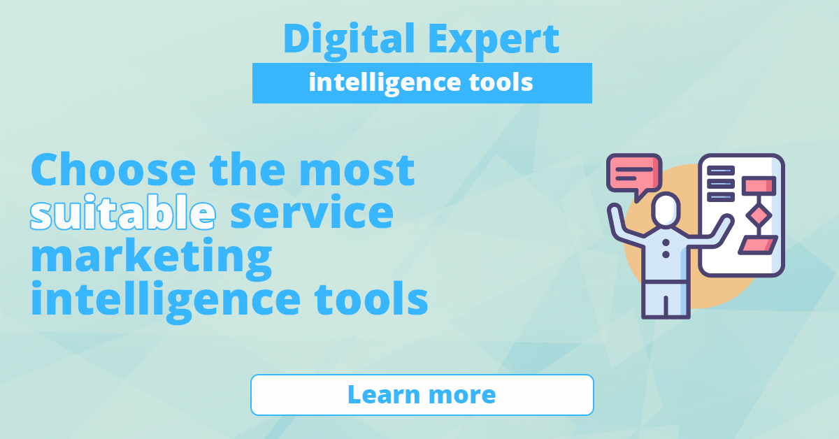 The best services for marketing intelligence tools