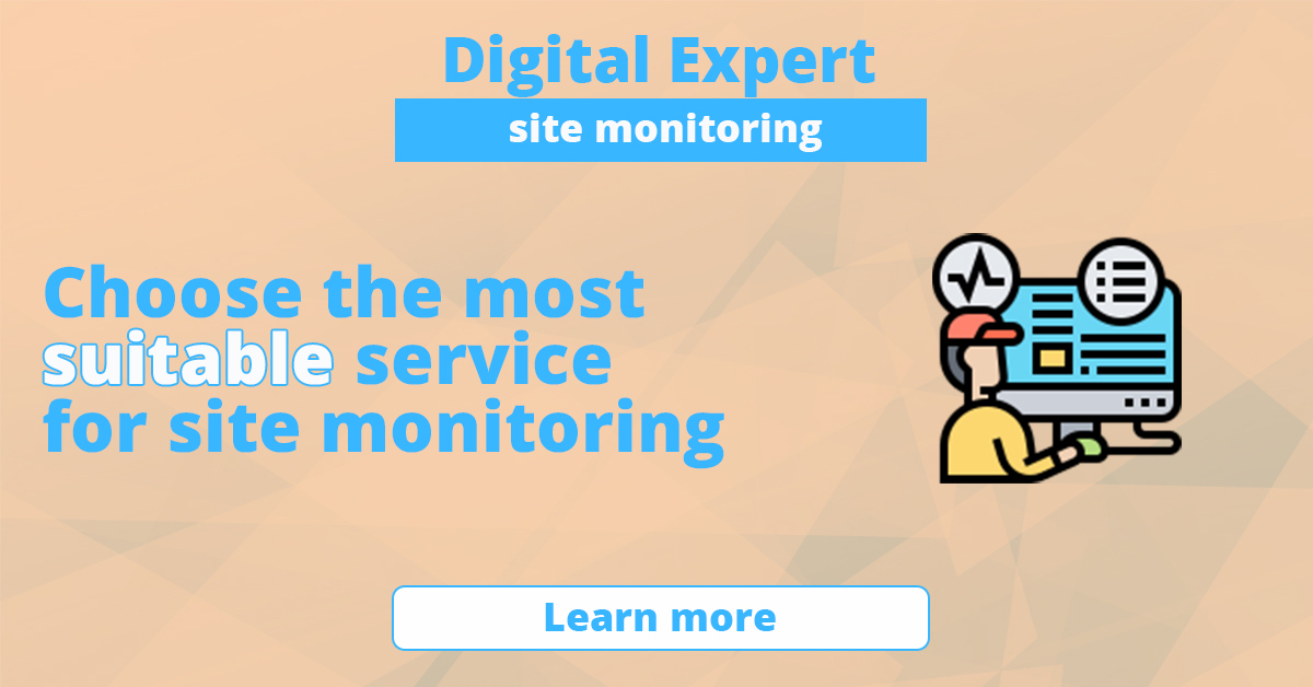 The best services for site monitoring