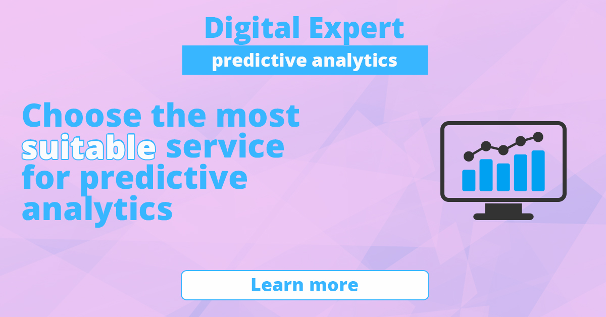 The best services for predictive analytics