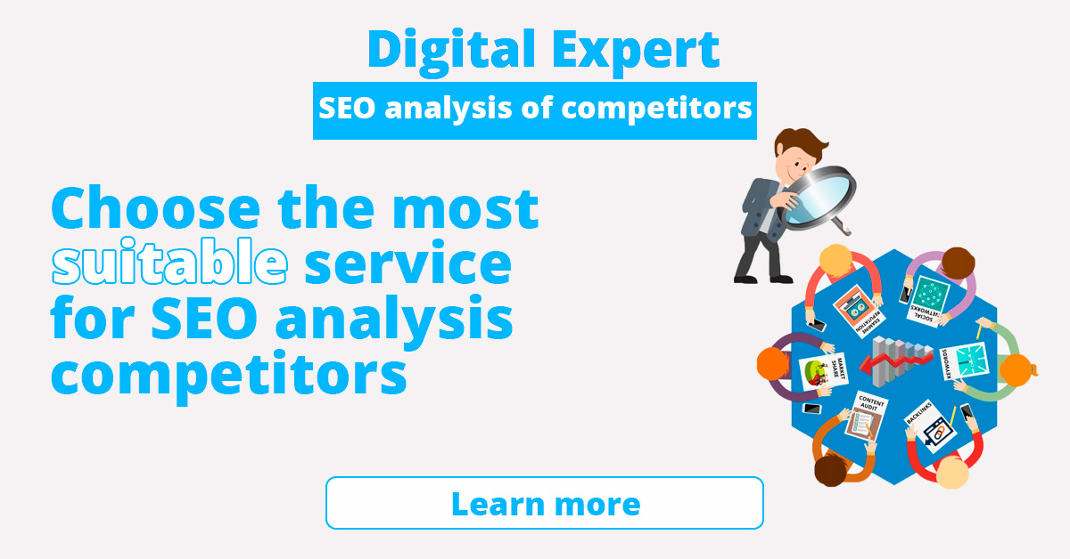 The best SEO analysis services for competitors