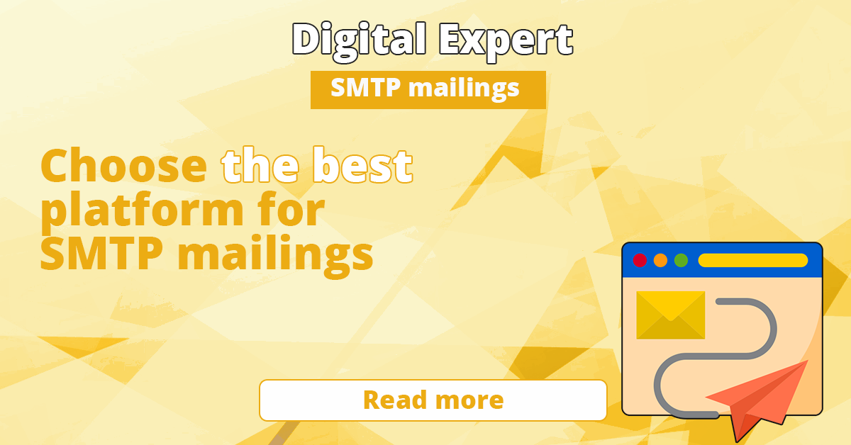 The best services for SMTP mailings