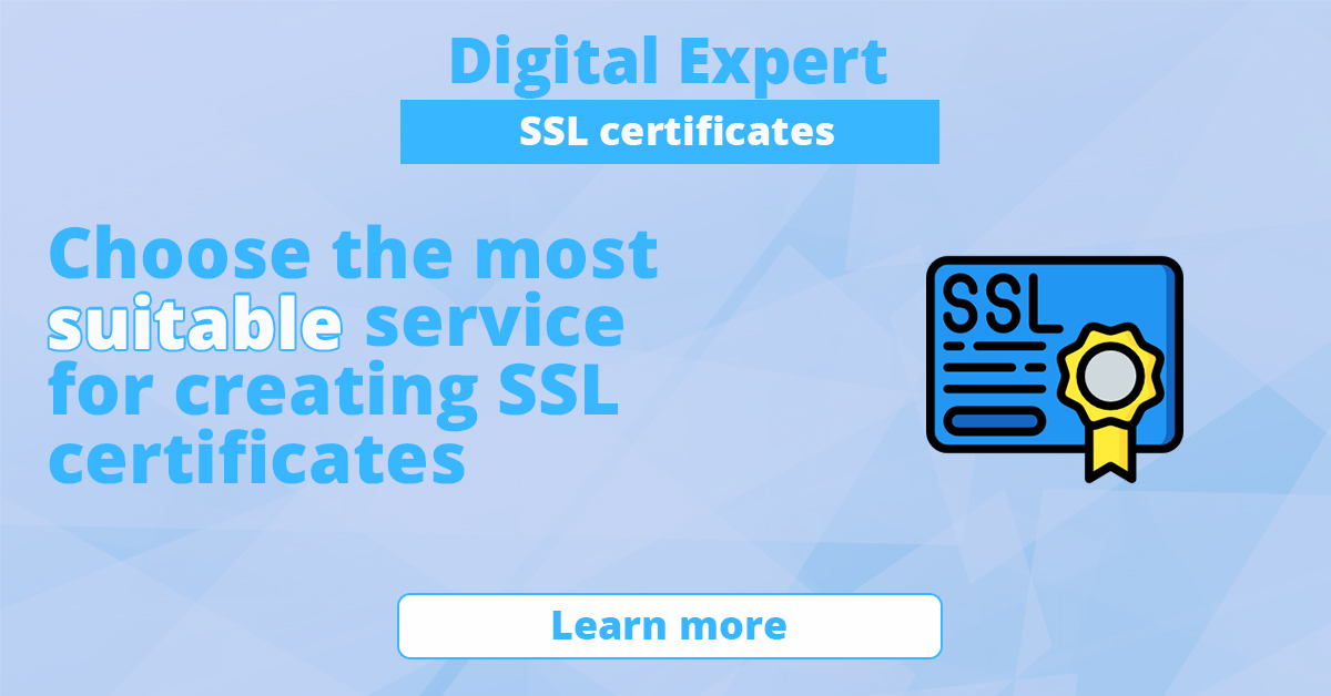 The best services for creating SSL certificates