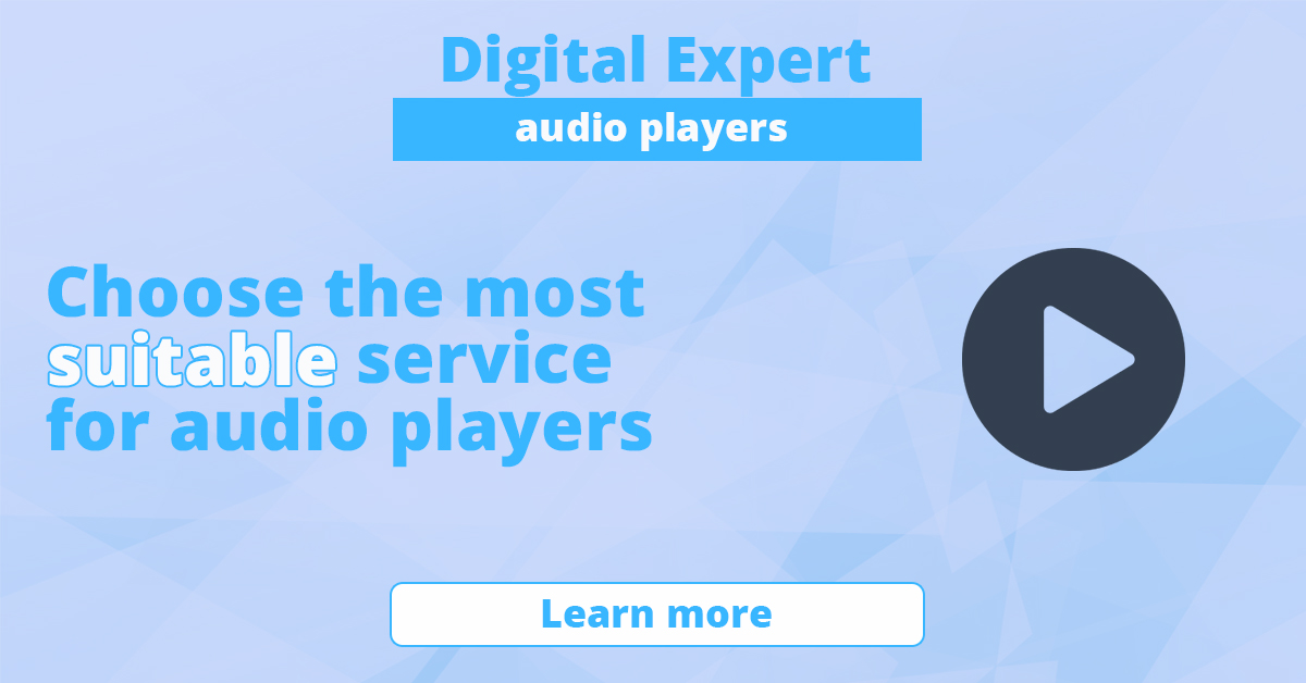 The best audio players for the site