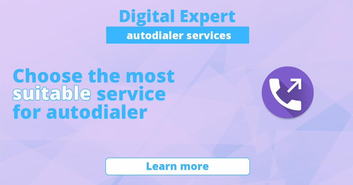 The best autodialer services
