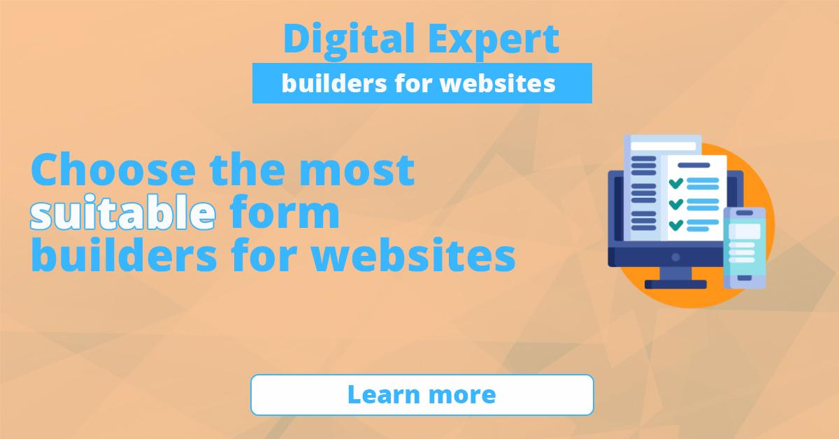The best form builders for websites