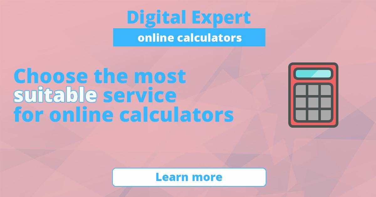 The best online calculators