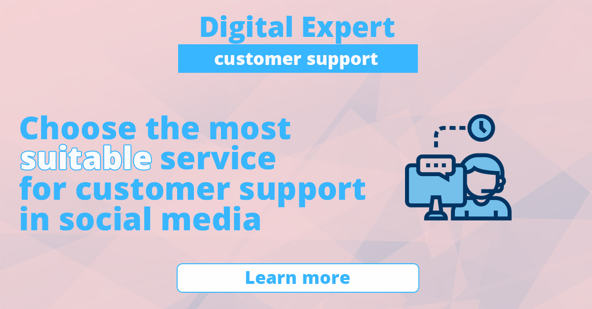 The best services for customer support in social media