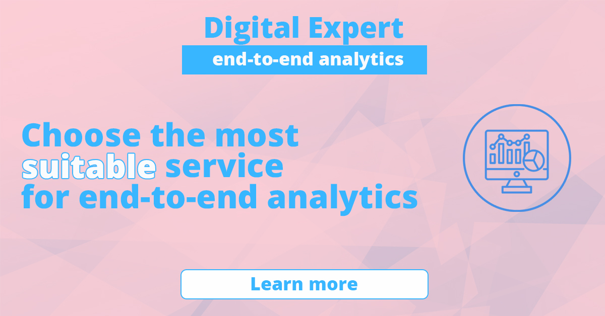 The best services for end-to-end analytics