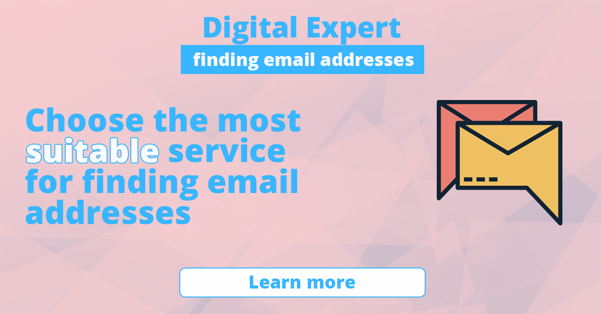 The best services for finding email addresses