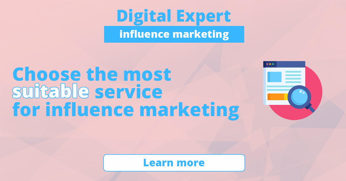 The best services for influence-marketing