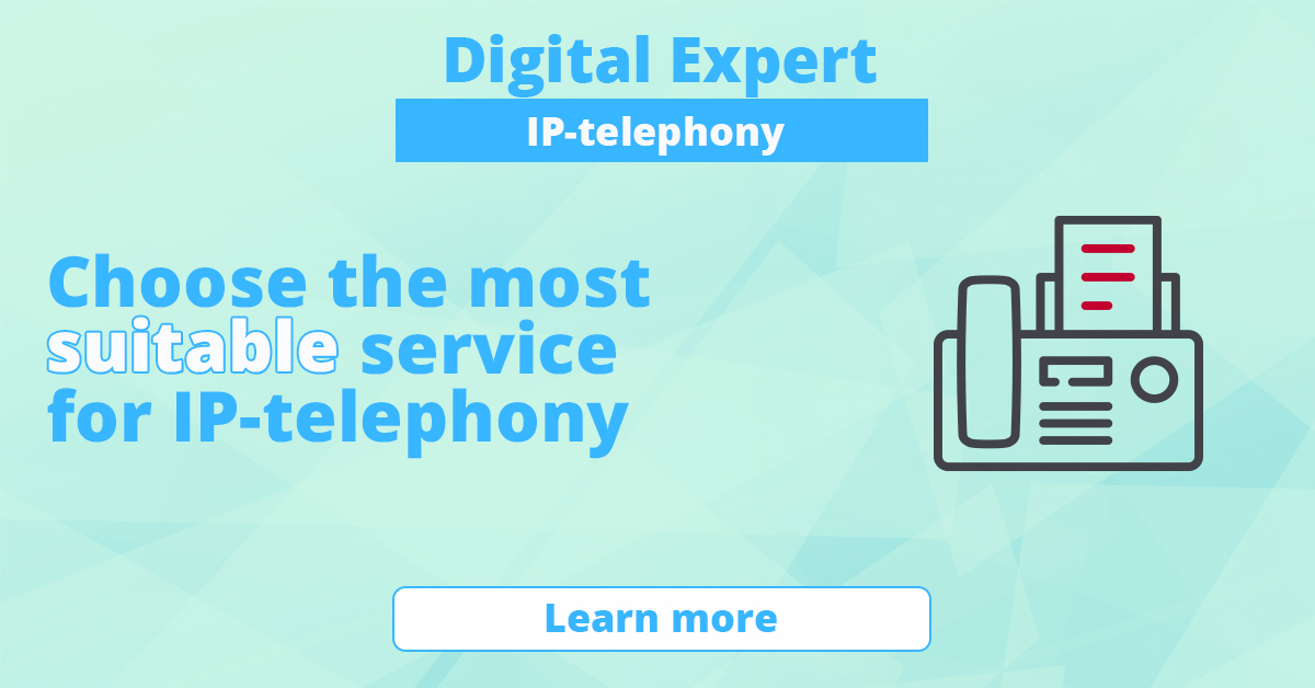 The best services for IP-telephony