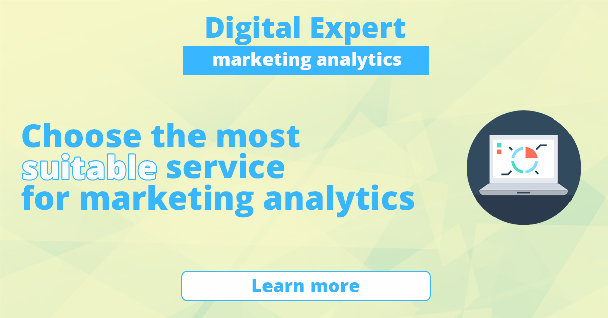 The best services for marketing analytics