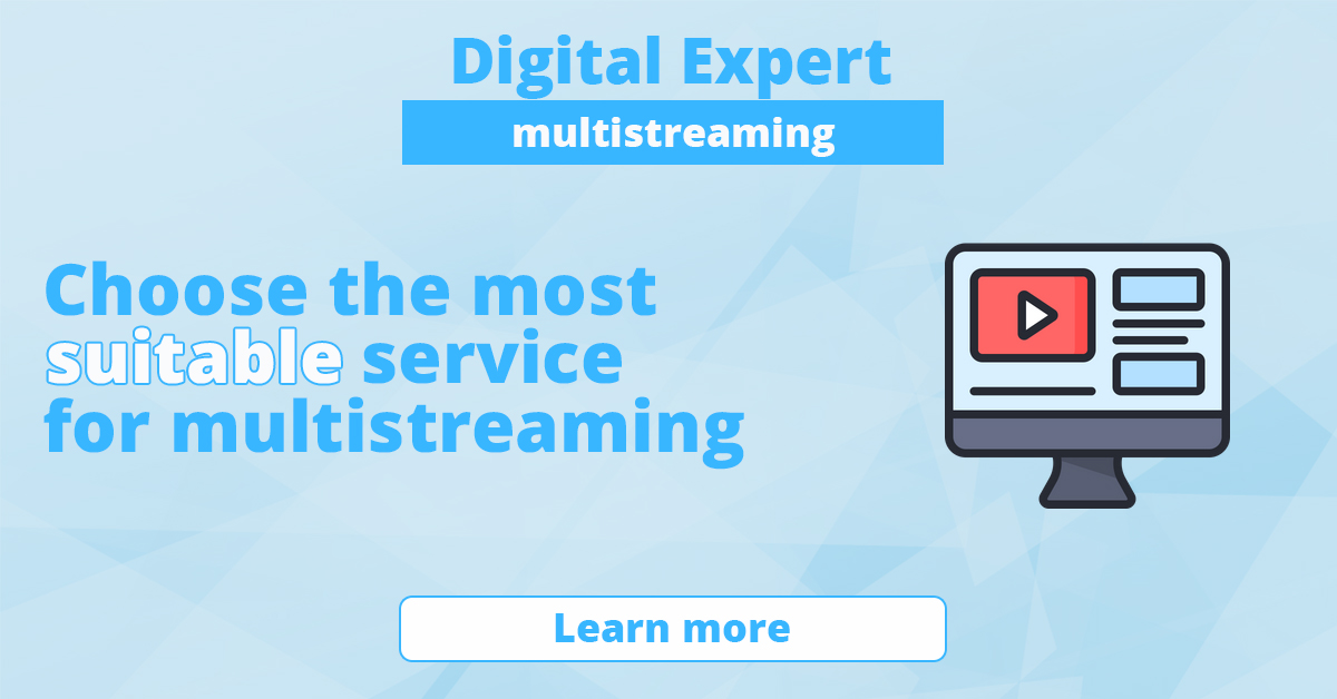 The best services for multistreaming