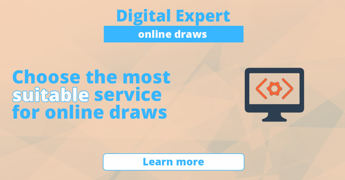 The best services for online draws