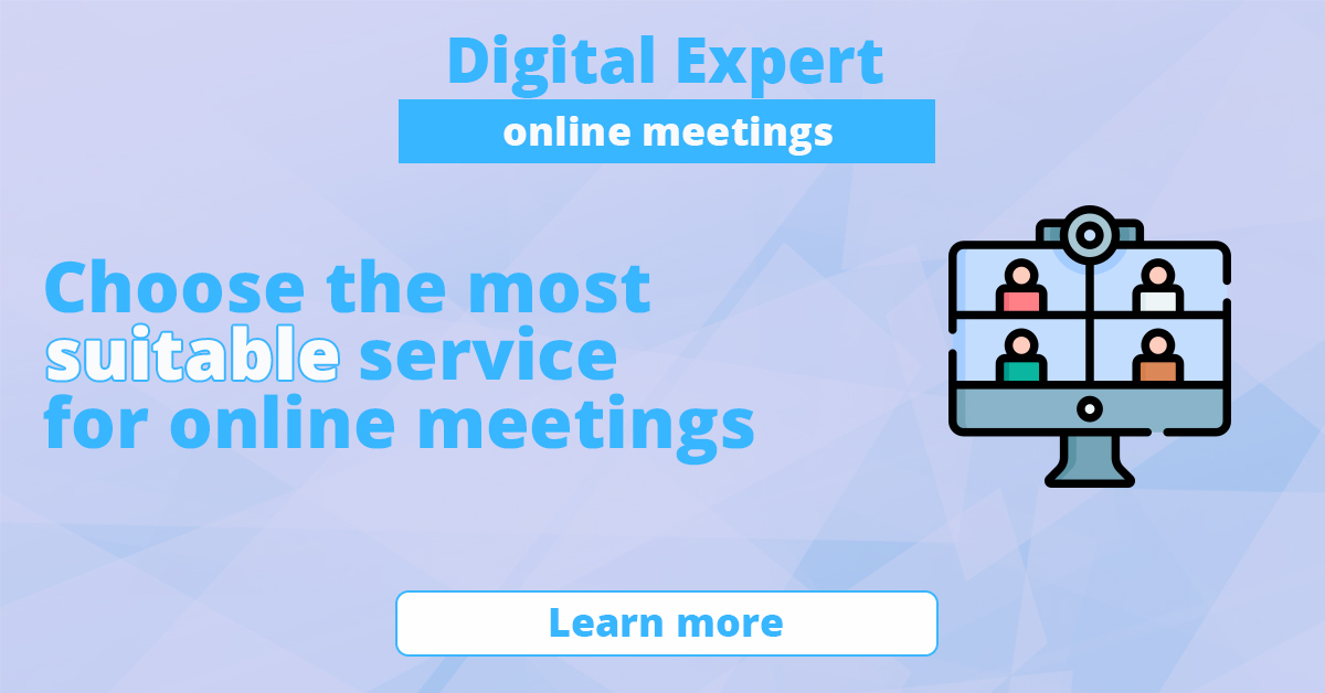 The best services for online meetings