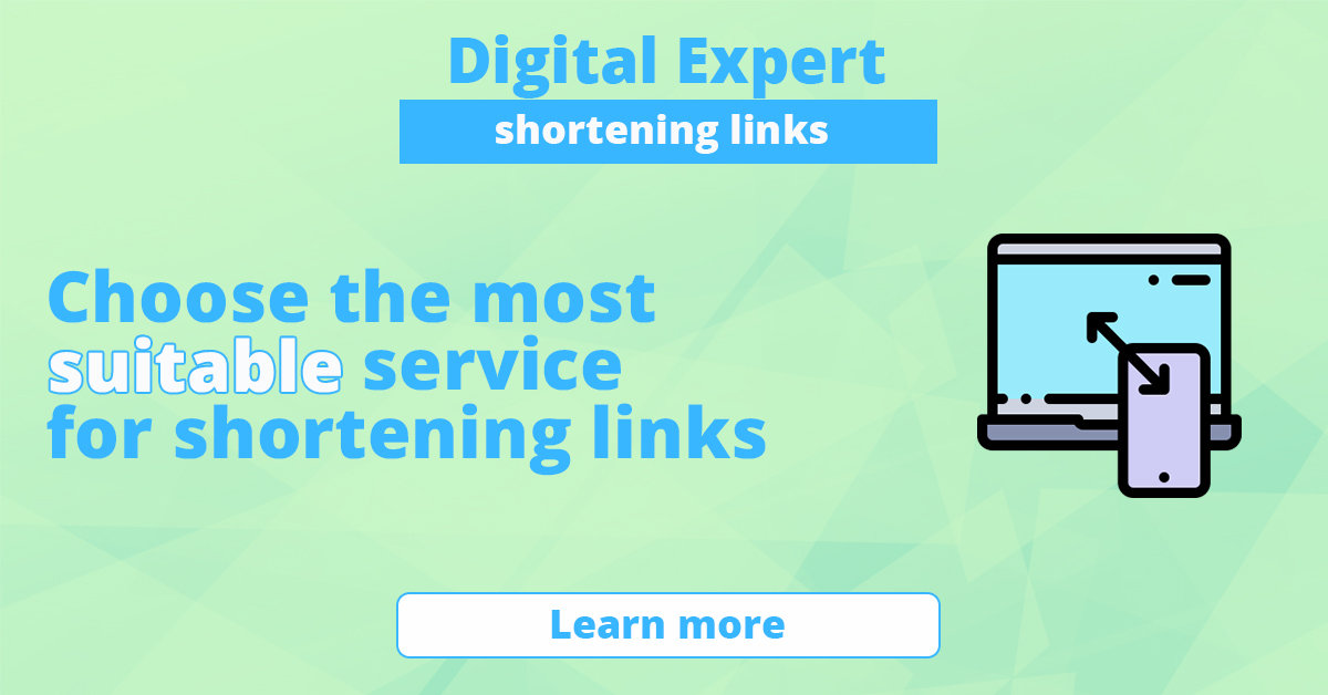 The best services for shortening links