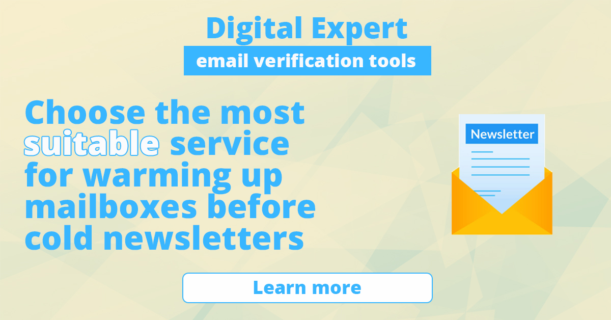 The best services for warming up mailboxes before cold newsletters
