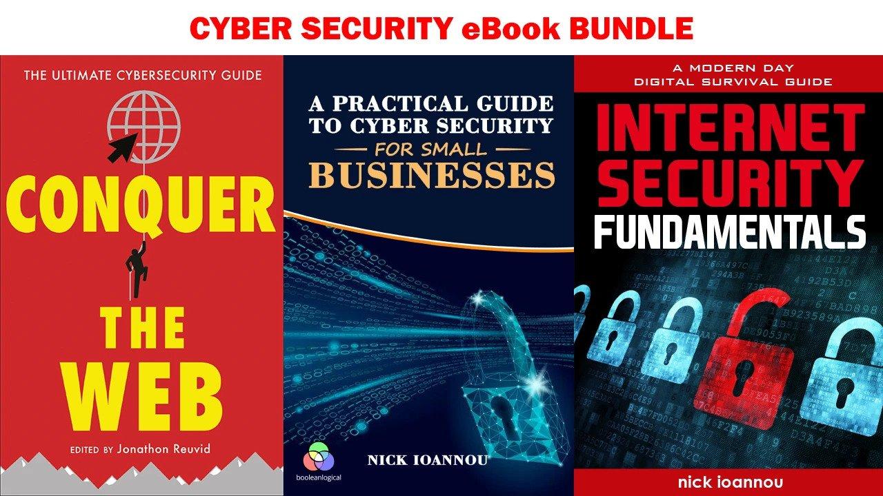 Спецпредложение для Cyber Security eBook Bundle - лучшая цена на рынке