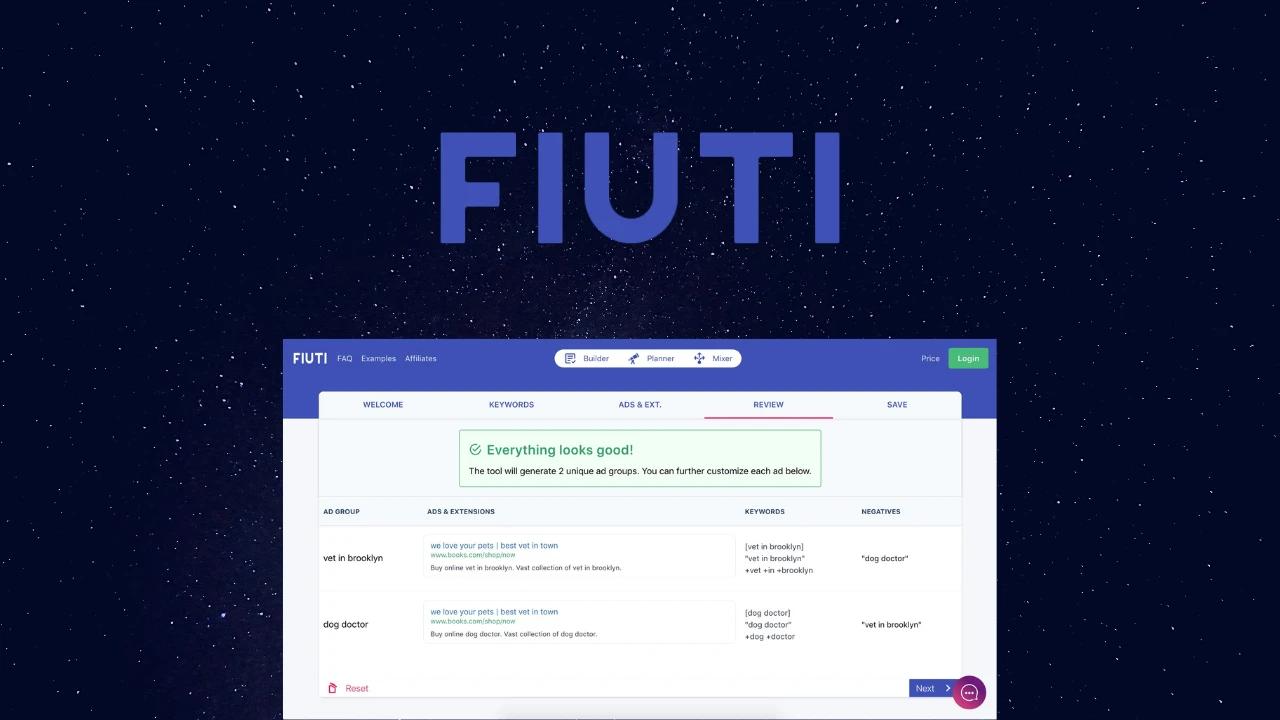 Спецпредложение для Fiuti - лучшая цена на рынке