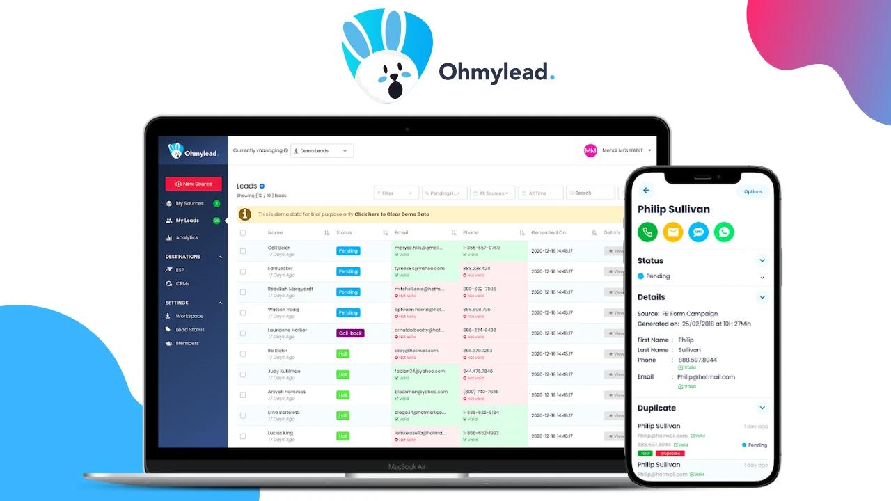 Спецпредложение для Ohmylead - лучшая цена на рынке